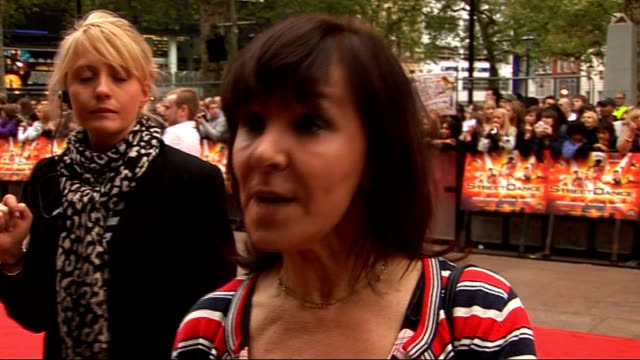 Red carpet arrivals and interviews at StreetDance 3D premiere Arlene Phillips interview SOT On the growth in Street Dance / On being on Loose Women...