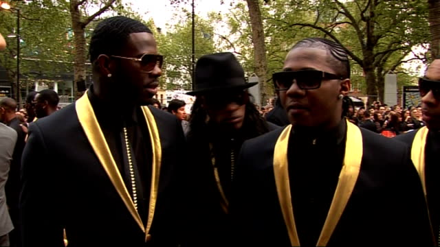 red carpet arrivals and interviews at streetdance 3d premiere; flawless interview sot - on the challenge of making a 3d movie / on the strength of... - final round stock videos & royalty-free footage