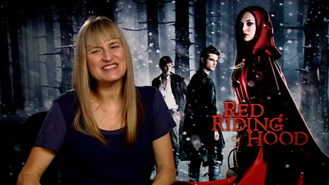 'Red Riding Hood' interviews Catherine Hardwicke interview SOT finished product had fast schedule working around the clock darkness/ sexiness as a...