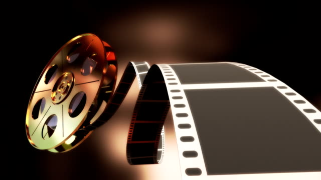 filmrolle/endlos wiederholbar - film leader stock-videos und b-roll-filmmaterial