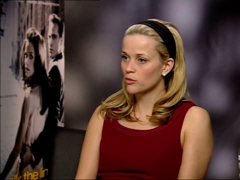 reese witherspoon reese witherspoon interview sot grew up in nashville and have a great reverence for country music/ film is really close to my heart... - country and western stock videos and b-roll footage