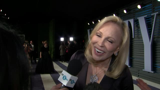 renewed battle cry for women's representation at the academy awards ext faye dunaway interview sot - faye dunaway stock videos and b-roll footage