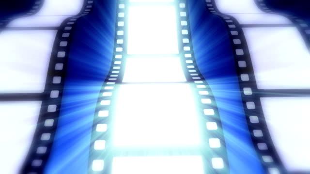 film ribbon - negatives stock videos & royalty-free footage