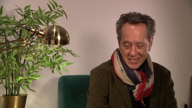 richard e grant interview on his oscar nomination england london int richard e grant interview sot on being nominated for best supporting actor at... - best supporting actor stock videos & royalty-free footage