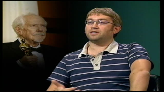 robert altman dies; london: gir: jamie graham interview sot - altman film 'the player' was a satire against hollywood - satire stock videos & royalty-free footage