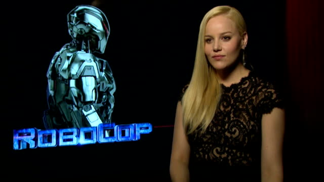 'RoboCop' interviews Abbie Cornish interview SOT