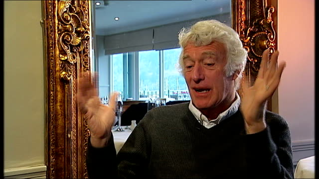 roger deakins interview deakins interview sot more on working on 'no country for old men' / had peckinpah's 'bring me the head of alfredo garcia' in... - javier bardem stock-videos und b-roll-filmmaterial