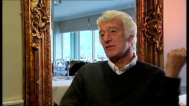 roger deakins interview; england: devon: int roger deakins interview sot - talks about working with film director sam mendes on film 'jarhead' and... - sam mendes stock videos & royalty-free footage