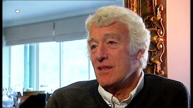 roger deakins nominated for two oscars england devon dartmouth deakins interview sot - dartmouth england stock videos & royalty-free footage