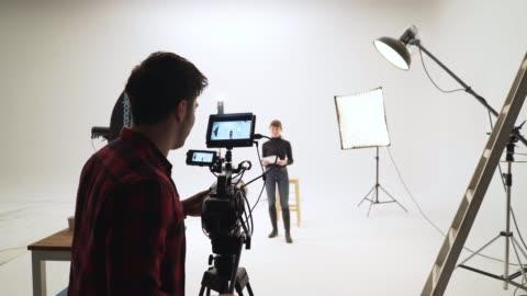 film set - filming stock videos & royalty-free footage