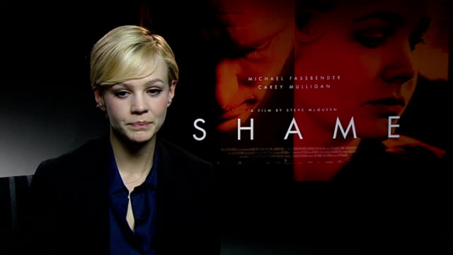 'Shame' Carey Mulligan interview Carey Mulligan interview SOT On whether she still gets starstruck / tips for upcoming actors about going to awards...