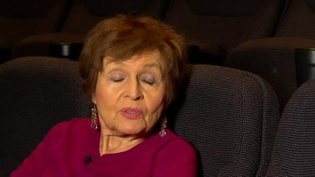 Short film 'Edek' features collaboration between Holocaust survivor and hip hop artist ENGLAND INT Janine Webber interview SOT Webber chatting with...