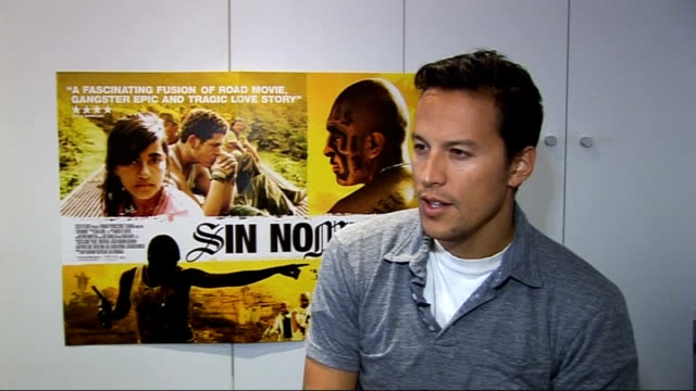 film 'sin nombre' cary fukunaga interview england london int cary fukunaga interview sot on how he feels about the positive reviews / hopes people... - film director stock videos and b-roll footage