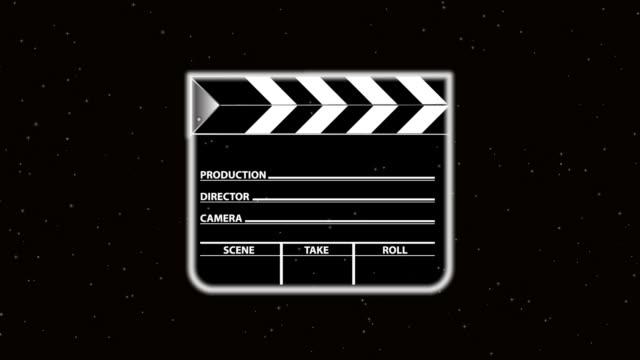 film slate blast - film slate stock videos & royalty-free footage