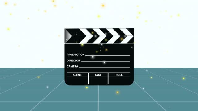 film slate crash - film slate stock videos & royalty-free footage