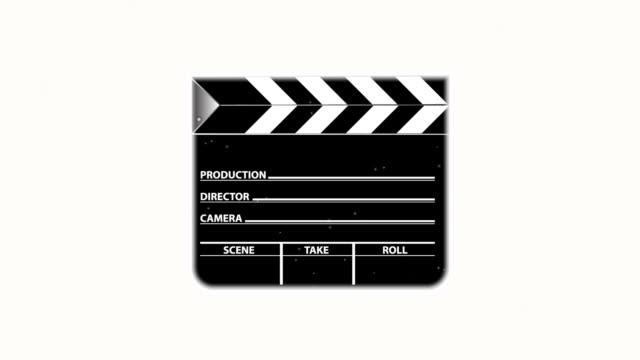 film slate explosion - film slate stock videos & royalty-free footage