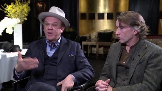 steve coogan and john c. reilly interview; england: london: int steve coogan interview sot john c. reilly interview sot steve coogan interview sot - steve coogan stock videos & royalty-free footage