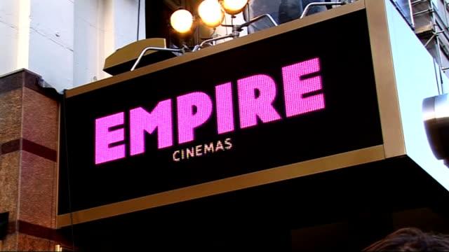 star trek film premiere england london leicester square ext poster for new star trek film 'star trek the future begins'/ empire cinema with screen... - simon pegg stock videos & royalty-free footage