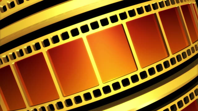 film strip 3d - man made object stock videos & royalty-free footage