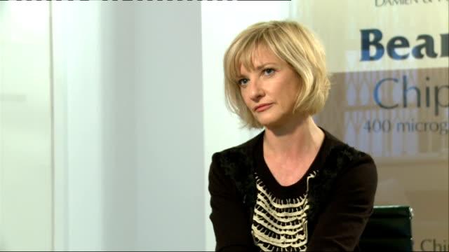 'sunshine on leith' junket interviews jane horrocks interview sot - jane horrocks stock videos & royalty-free footage