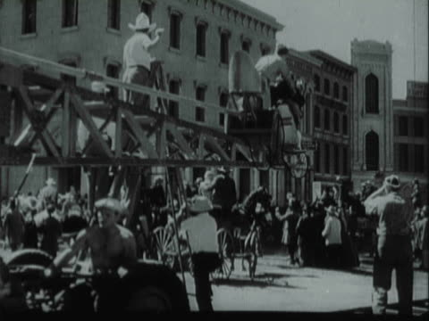 montage film technicians and crews behind the scenes of movie / los angeles, california, united states - 1940 stock videos and b-roll footage