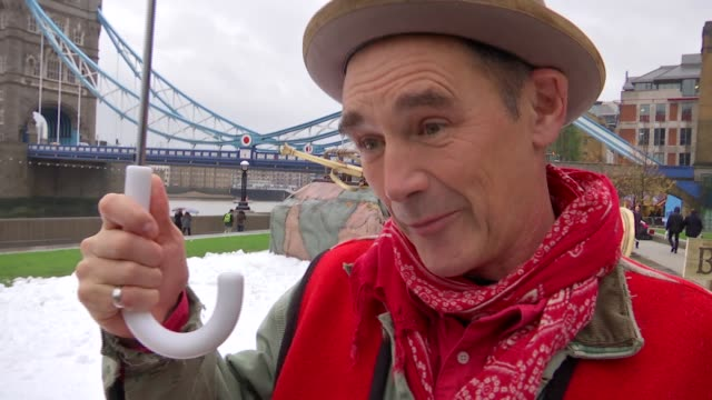 'the bfg' mark rylance interview mark rylance and ruby barnhill interview sot re 'the bfg' released on dvd - mark rylance stock-videos und b-roll-filmmaterial