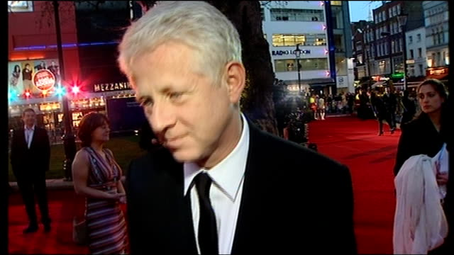 vidéos et rushes de 'the boat that rocked' premiere: arrivals; richard curtis, emma freud and others on red carpet richard curtis interview sot - probably last time i'll... - emma freud