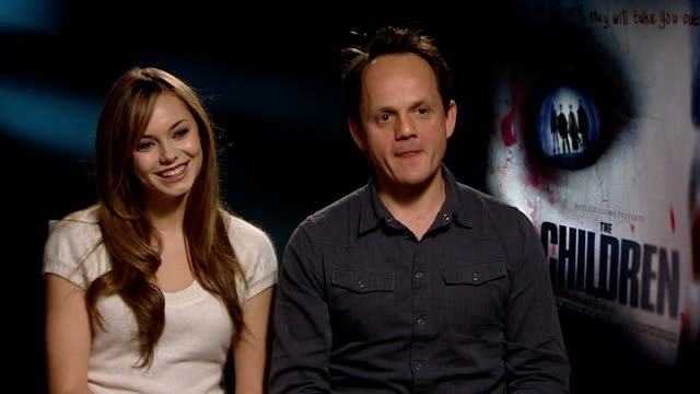 'The Children' Hannah Tointon Tom Shankland Eva Birthistle and Jeremy Sheffield interviews Tointon on children not knowing what they're doing...