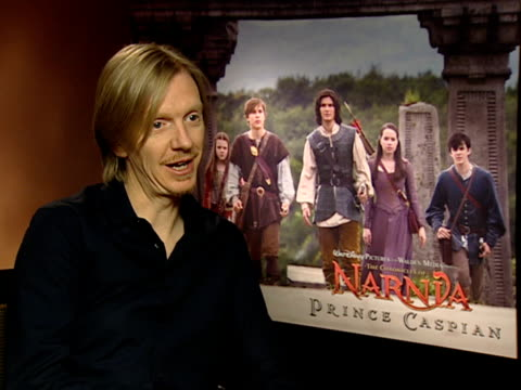 Film 'The Chronicles of Narnia Prince Caspian' cast interviews Andrew Adamson interview SOT on privilege of doing film on story being a challenge on...
