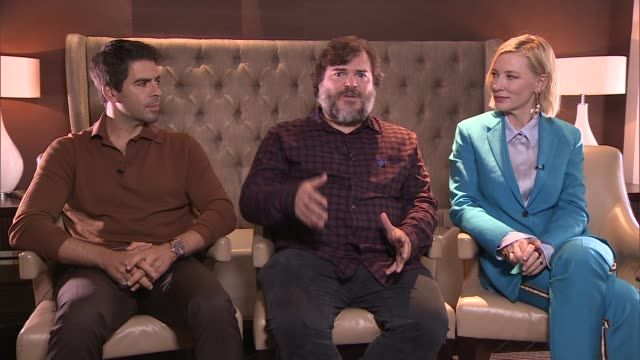 'The House with a Clock in Its Walls' Cate Blanchett Jack Black and Eli Roth interview ENGLAND London Jack Black interview SOT Eli Roth interview SOT...