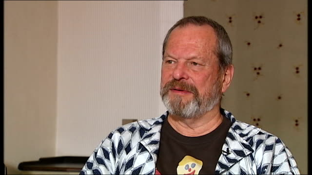 stockvideo's en b-roll-footage met 'the imaginarium of doctor parnassus' terry gilliam and amy gilliam interview terry gilliam and amy gilliam interview sot more on wanting to complete... - terry gilliam