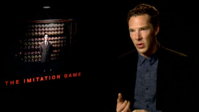 The Imitation Game interviews ENGLAND London INT Benedict Cumberbatch interview SOT / Keira Knightley interview SOT /