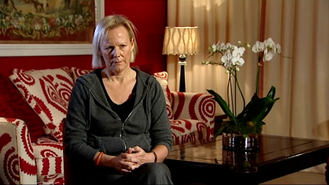 'the iron lady' premiere: interviews with phyllida lloyd and jim broadbent; phyllida lloyd interview sot - the inspiration for abby morgan's... - documentary film stock videos & royalty-free footage