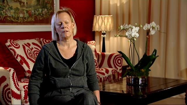 'the iron lady' premiere interviews with phyllida lloyd and jim broadbent phyllida lloyd interview sot have taken a ten year old girl to see this and... - documentary film stock videos & royalty-free footage