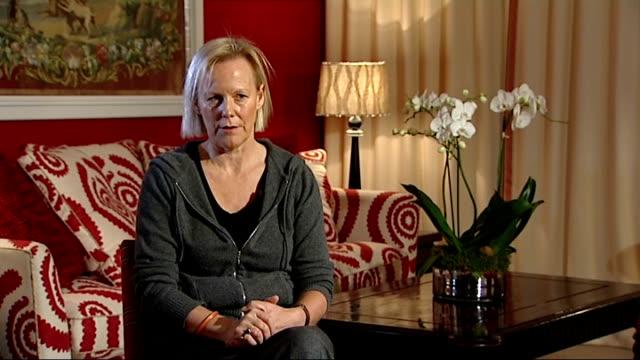 'the iron lady' premiere interviews with phyllida lloyd and jim broadbent england london int phyllida lloyd interview sot sent screenplay and told in... - 伝記映画点の映像素材/bロール