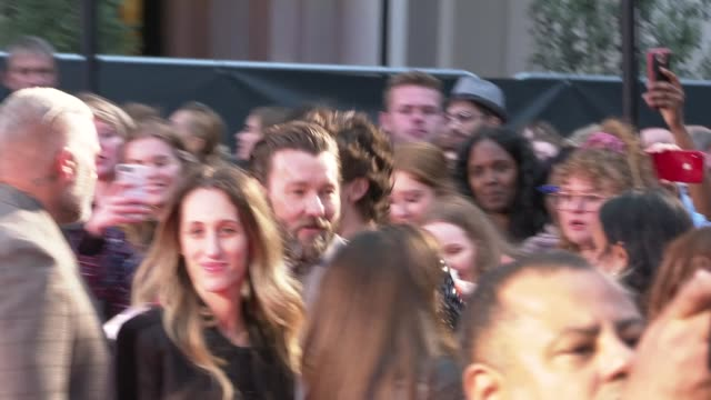 'the king' premiere red carpet england london leicester square odeon luxe photography** people on the red carpet / timothee chalamet on the red... - odeon cinemas stock videos & royalty-free footage