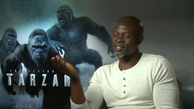 The Legend of Tarzan junket Djimon Hounsou interview SOT / David Yates David Barron interview SOT