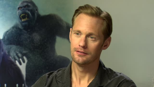The Legend of Tarzan junket ENGLAND London INT Alexander Skarsgard Margot Robbie interview SOT / Hozier interview SOT / Christoph Waltz interview SOT...