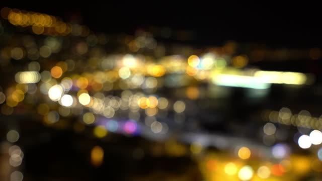 Film Tilt Blur background Monaco Monte Carlo french riviera night