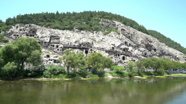 Film Tilt: Longmen Grottoes Luayang Henan China