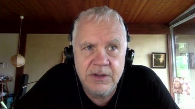 tim robbins interview; usa: int tim robbins 2-way interview via internet sot. - tim robbins stock videos & royalty-free footage