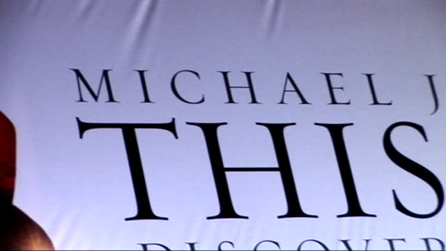 uk premiere of michael jackson film 'this is it' red carpet arrivals england london leicester square photography** **music heard sot** various of... - look alike stock videos and b-roll footage