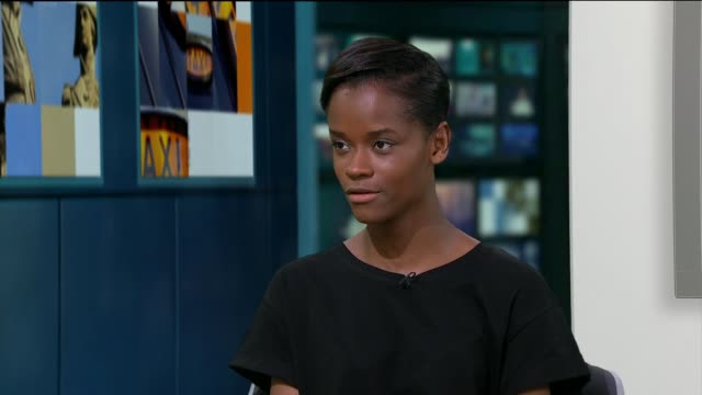 'urban hymn' letitia wright interview england london gir int letitia wright live studio interview sot - letitia wright stock videos and b-roll footage