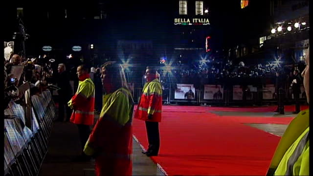 'Valkyrie' premiere red carpet arrivals ENGLAND London Leicester Square THROUGHOUT*** Back Views Tom Cruise and Katie Holmes arriving and posing for...