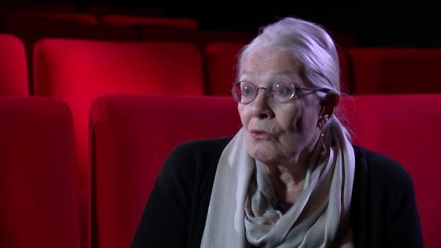 Vanessa Redgrave interview ENGLAND London INT Vanessa Redgrave interview re refugees new documentary film 'Sea Sorrow' SOT