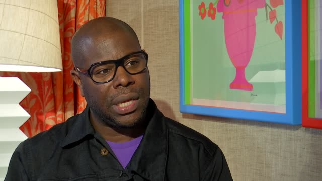 'Widows' Steve McQueen interview ENGLAND London Steve McQueen interview SOT re new film 'Widows'