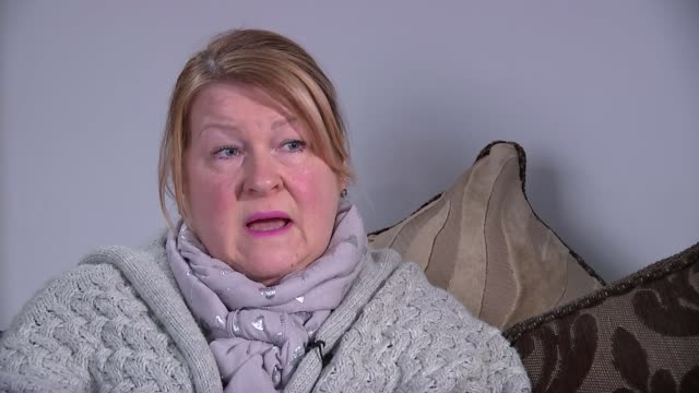 Woman recognises grandfather in restored WWI footage from Peter Jackson war documentary ENGLAND INT Jenny Pateman interview SOT