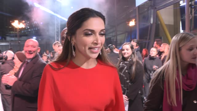 'xxx return of xander cage' premiere red carpet arrivals donnie yen interview sot / deepika padukone interview sot / vin diesel speaking to press and... - vin diesel stock videos and b-roll footage