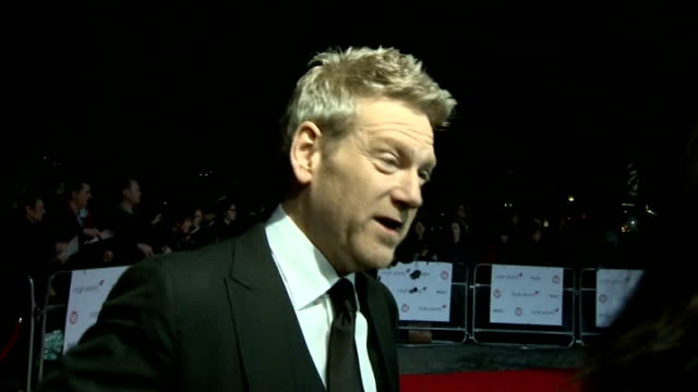 stockvideo's en b-roll-footage met award winning film director asif kapadia london direcotr and actor kenneth branagh at the london critic's circle awards actress carey mulligan at the... - criticus