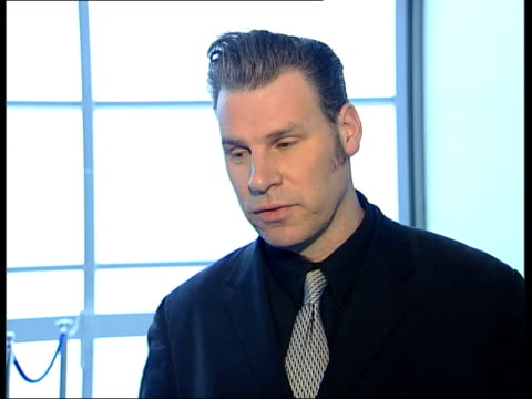 nominations announced; itn london: int mark kermode interview sot - - マーク カルモード点の映像素材/bロール
